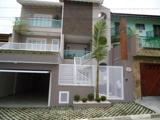 บ้านและที่อยู่อาศัย โดย Kátia Borges - arquitetura+interiores, ผสมผสาน