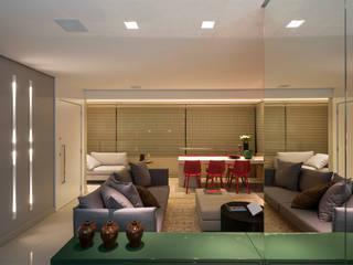 Modern living room by Nara Cunha Arquitetura e Interiores Modern