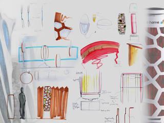 Bee Home: modern  von Raphael Klaffenböck - Design und Produktmanagement,Modern