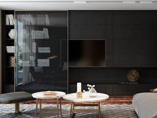 Dubai apartment: Гостиная в . Автор – Diff.Studio, Минимализм