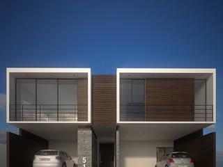 Casa Nelly Casas minimalistas de RTstudio Minimalista