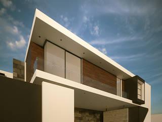 Casa Salmonela Casas minimalistas de RTstudio Minimalista
