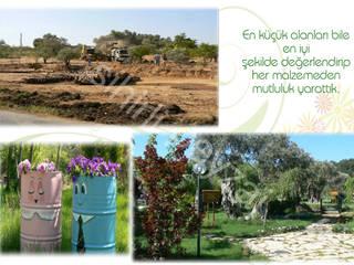 Jardins mediterrâneos por sihirlipeyzaj Mediterrâneo