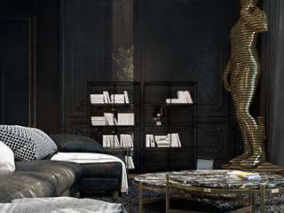 Salas / recibidores de estilo  por Diff.Studio