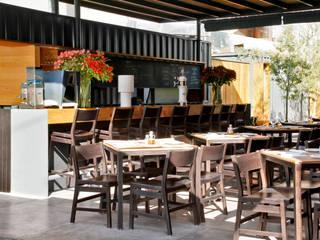 CON (tenedor) Alvaro Moragrega / arquitecto Gastronomía de estilo industrial