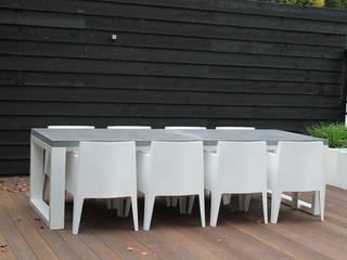 Betonnen tafel BARI steel  & concrete: modern  door Ardworks BV, Modern