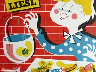 Disque vinyle enfant CRG vintage par rocket lulu Éclectique