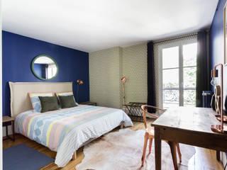 Industrial style bedroom by Espaces à Rêver Industrial