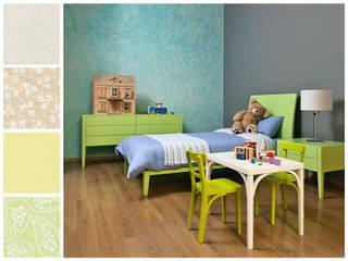 Paletas de color Dormitorios infantiles minimalistas de MARIANGEL COGHLAN Minimalista