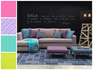 MARIANGEL COGHLAN 现代客厅設計點子、靈感 & 圖片