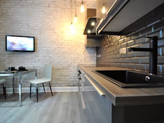 Apartments in Oakley Square, London Modern style kitchen by Pergo Modern