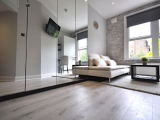 Apartments in Nothing Hill, London Salon industriel par Pergo Industriel