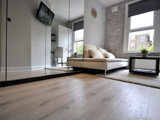 Apartments in Nothing Hill, London Pergo Salones de estilo industrial