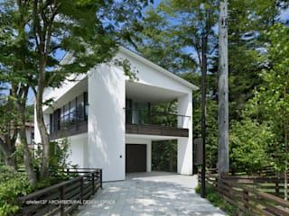 Modern houses by atelier137 ARCHITECTURAL DESIGN OFFICE Modern
