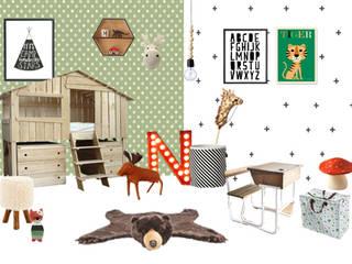 Chambre de Nathanaël, Esprit Scandinave MAMA JOOL Chambre d'enfantsAccessoires & décorations