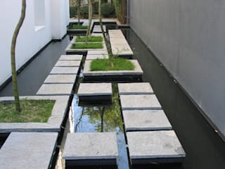 So kann man die 3 Meter Grenze einrichten Moderner Garten von Ecologic City Garden - Paul Marie Creation Modern