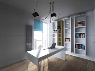 Scandinavian style study/office by Studio Malina Scandinavian