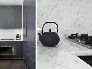 PARIS GEORGES VILLE Cuisine minimaliste par KTL Interiors by Kareen Trager-Lewis Minimaliste