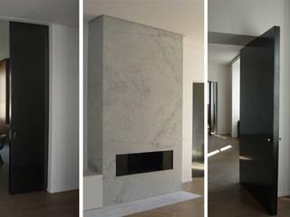 PARIS GRENELLE Salon minimaliste par KTL Interiors by Kareen Trager-Lewis Minimaliste