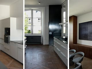 PARIS GRENELLE Cuisine minimaliste par KTL Interiors by Kareen Trager-Lewis Minimaliste