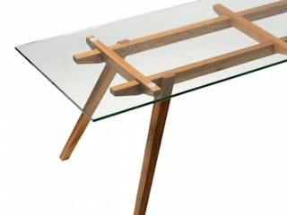Ali Sticotti Dinning Table:   by The Natural Furniture Company Ltd