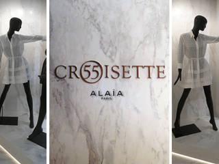 SAINT-TROPEZ BOUTIQUE 55 CROISETTE Locaux commerciaux & Magasin minimalistes par KTL Interiors by Kareen Trager-Lewis Minimaliste