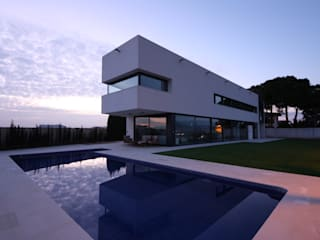 Casa López-Oliva Casas de estilo moderno de GOELIN ARQUITECTOS Moderno