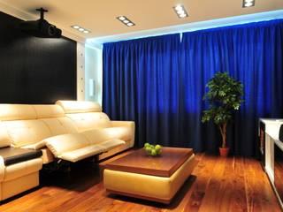 Квартира в современном стиле со стилизацией от Елена Кокшарова Eldesign74 Минимализм