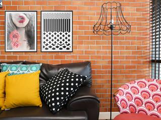 Plakat Smoke: styl , w kategorii Ściany i podłogi zaprojektowany przez 4rooms.com.pl