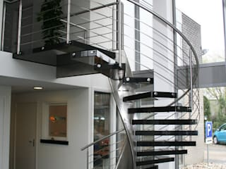 Allstairs Trappenshowroom Corridor, hallway & stairs Stairs