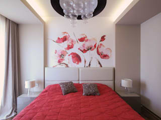 ДизайновТочкаРу Minimalist bedroom