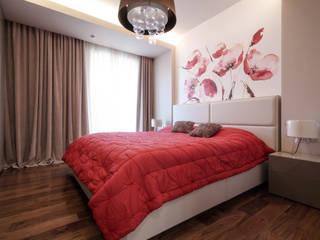 Minimalist bedroom by ДизайновТочкаРу Minimalist