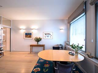 Prins Hendrikstraat:  Eetkamer door De Werff Architectuur