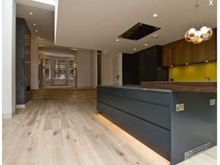 Islington Residence Lighting Design Studio Cuisine moderne