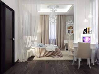 Квартира 75 м2 Спальня в классическом стиле от Vera Rybchenko Классический