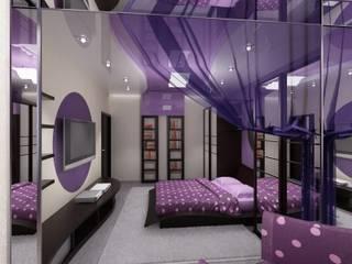 КВАРТИРА. ВОЛНА Спальня в стиле модерн от Vera Rybchenko Модерн