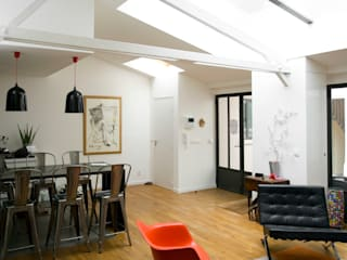 Ruang Makan Modern Oleh ATELIER FB Modern