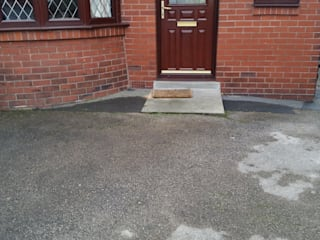 Before - project start :   by Elite Landscapes Manchester