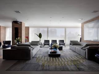 Ap. adaptado - cadeirante Salas de estar modernas por Marcelo Rosset Arquitetura Moderno