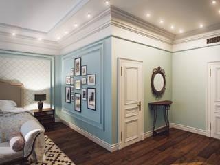 Hotel room Спальня в классическом стиле от Андрей Кривуля Классический