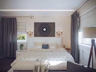Bedroom(2014) Спальня в классическом стиле от Андрей Кривуля Классический