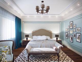 Hotel room: Спальни в . Автор – Андрей Кривуля, Классический