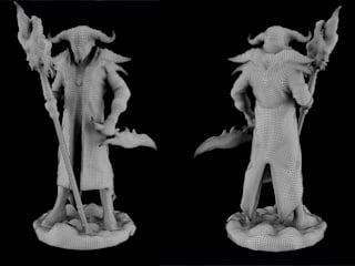 Mage character for contest from Prototypster:  в . Автор – Андрей Кривуля, Скандинавский