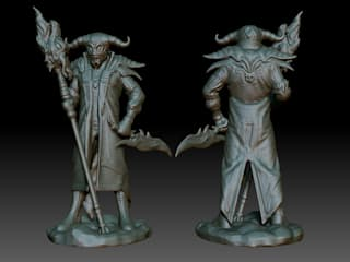 Mage character for contest from Prototypster от Андрей Кривуля Скандинавский