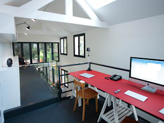 Modern Study Room and Home Office by ATELIER FB Modern