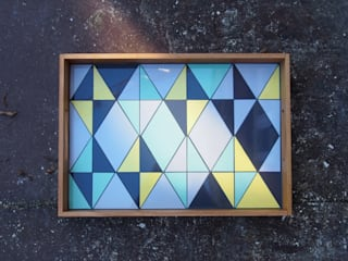 Tablett RHOMBUS yellow:   von helmuth