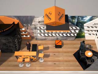 Centre d'expositions de style  par AK srl,