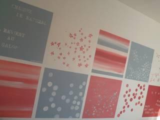 décor mural pour chambre de fille Murs & Sols modernes par Bleu d'avril Moderne