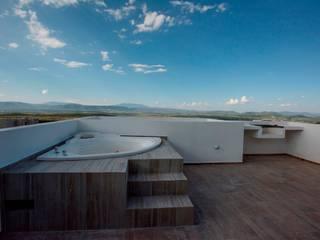 Minimalistischer Balkon, Veranda & Terrasse von JF ARQUITECTOS Minimalistisch