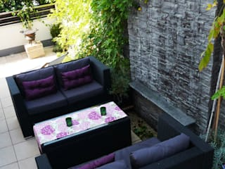 Balcones y terrazas de estilo moderno de Chałupko Design Moderno